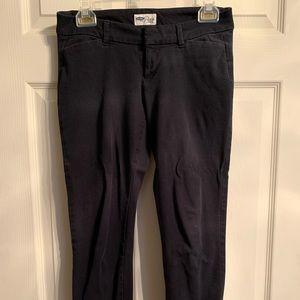 Black pixie pants